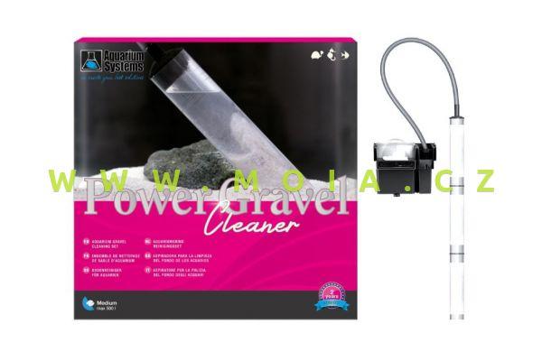 Motorový čistič Power Gravel Cleaner - odkalovač písku s filtrací , 630l/h - 6 watt