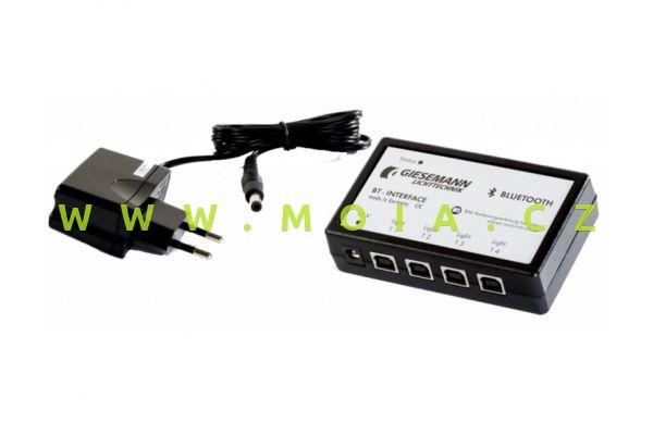 Ovládání světel Giesemann TESZLA a PULZAR HO LED –  Bluetooth Interface pro Android / PC /