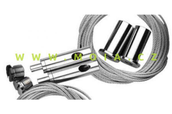 GIESEMANN příslušenství -závěsná polohovací lanková sada pro osvětlení FUTURA-S
