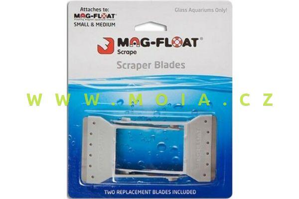 """Náhradní kovové břity pro """"MAG-FLOAT® Long new version Colour of Scrapers Pantone"""