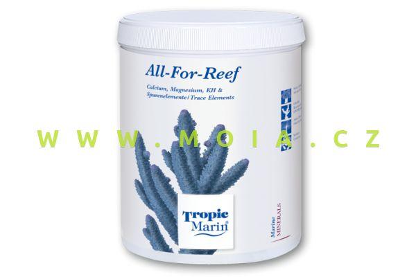 TM® ALL-FOR-REEF Pulver, veškeré důležité minerály a stopové prvky, 800 g, pro 5 l roztoku