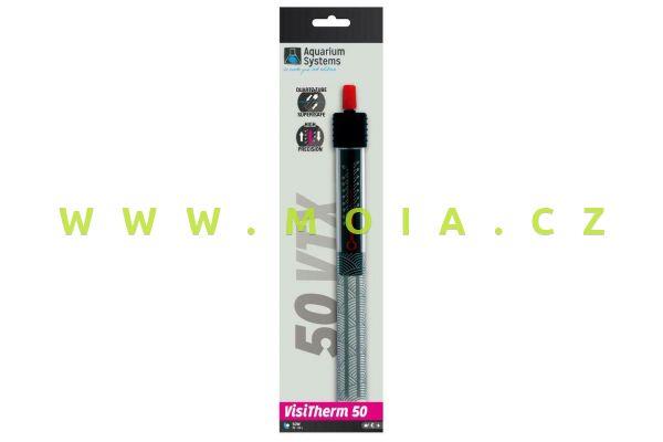 Akvarijní topítko regulační VisiTherm   VTX 50, 50 W