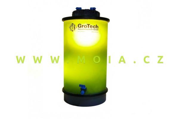 Fytoplanktonreaktor 11 l – GroTech PhytoBreeder 200 mm