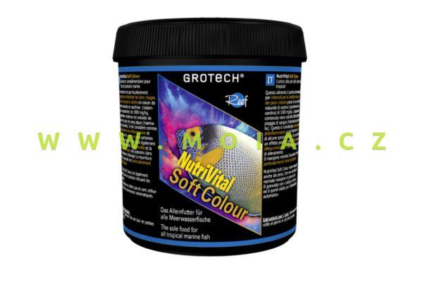 NutriVital Soft Colour granule 0,6–0,9 mm; 175 g; krmení pro zbarvení mořských rybiček