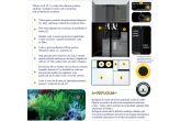 Akvarijní set AQUARIUM SYSTEMS L'Aquarium 370 Black Sea Reef, 90 × 52 × 144 cm