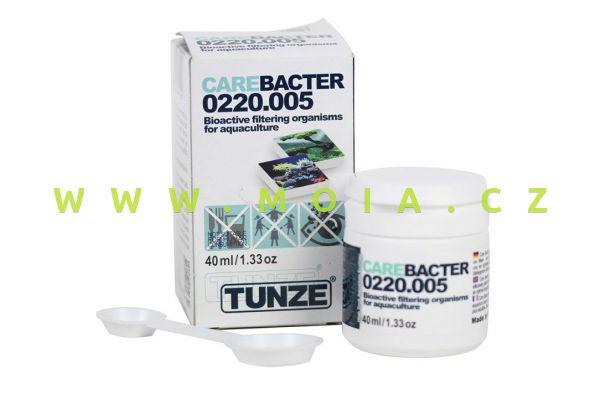 Bakterie proti řasení sladkovodních a mořských akvárií TUNZE 220.005 Care Bacter, 40 ml