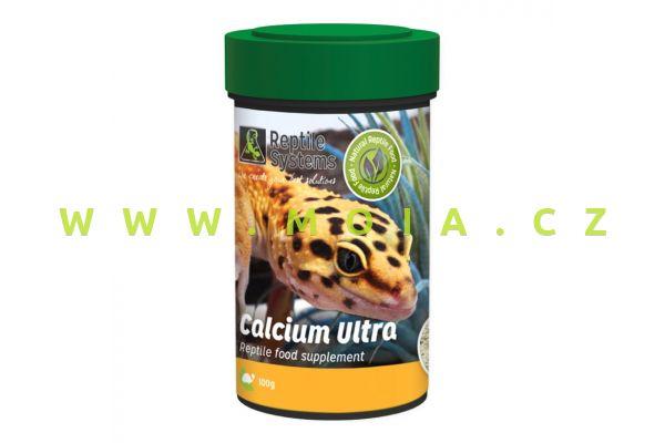 Calcium Ultra 100 ml (g) – ultrajemný prášek vápníku a hořčíku pro plazy, obojživelníky