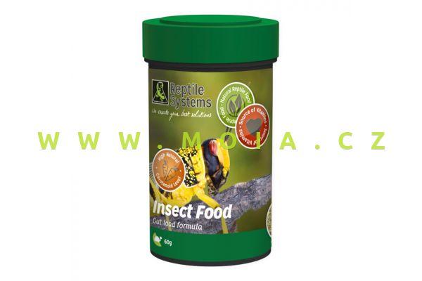 Insect Food 100ml (g) – stravitelný doplněk výživy krmného hmyzu s vitamíny, minerály