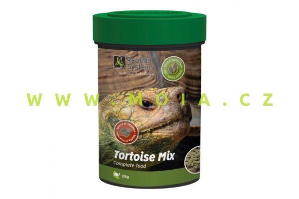 Tortoise Mix 500 ml – 125 g, prémiové krmivo pro suchozemské želvy aj. býložravé plazy