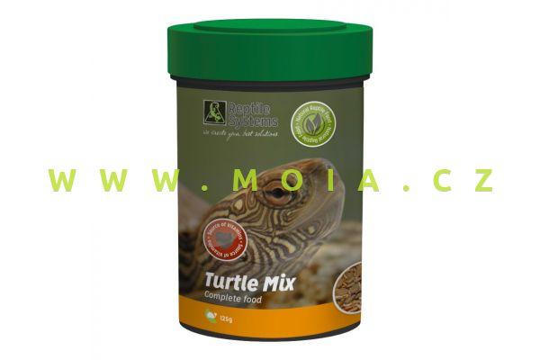 Turtle Mix 500 ml – 125 g, krmivo vodních želv s minerály, multivitamíny a omega 3, 6, 9