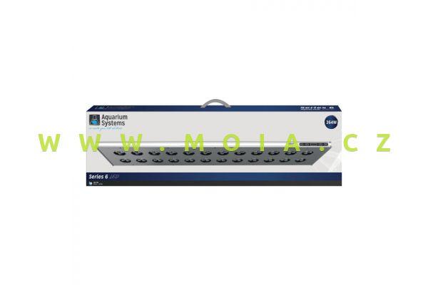 LED Series 6 Marine 560 × 205 × 31 – 176 W, Wi-Fi osvětlovací těleso Aquarium Systems