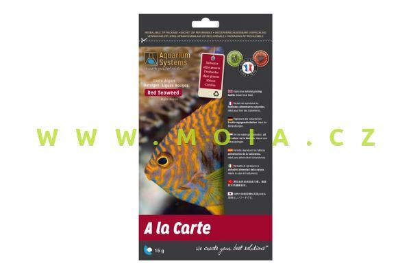A la Carte Red Seaweed 15 g, 100% přírodní krmení mořských rybek s vitamíny a minerály