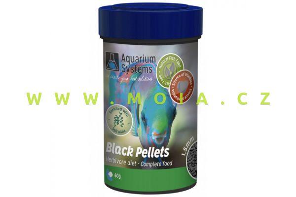 Spirulina Pellets – Herbivore 1,5 mm – 100 ml – 60 g, granulované krmení akvarijních rybek