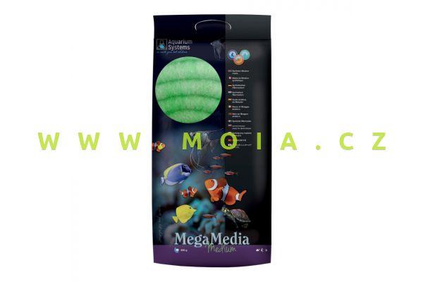 Filtrační Makro vata střední – AQUARIUM SYSTEMS Mega Media medium 500g