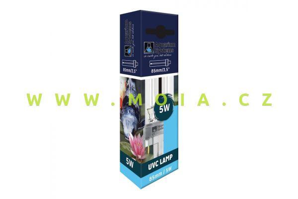 Náhradní komp. zářivka germicidní Ultra Clear UV-C, AS PL-S 5 W (G23, 85 mm)