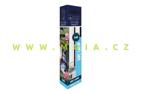 Náhradní komp. zářivka germicidní Ultra Clear UV-C, AS PL-S 9 W (G23, 145 mm)