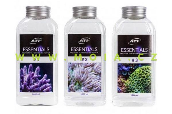 ATI Essentials sada 3× 1 000 ml – KOMPONENT 1, 2, 3