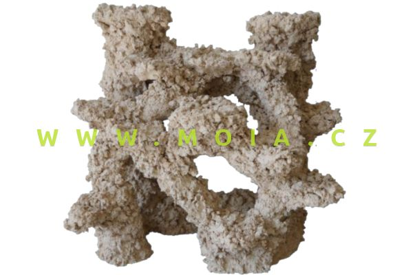 Porous Ceramic – Backwall Modul 30 × 20 × 30 cm, dekorace keramické rifové pozadí