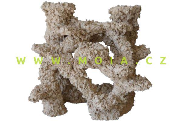 Porous Ceramic – Backwall Modul 40 × 30 × 40 cm, dekorace keramické rifové pozadí