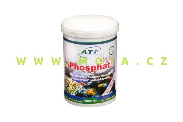 ATI Phosphat stop 1000 ml, odstraňovač – výkonný absorbér fosfátu na bázi železa