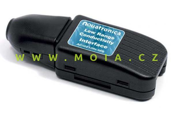 Propojení ACQ210N-MS pro sondu vodivosti – CONDUCT. INTERFACE + USB Cable