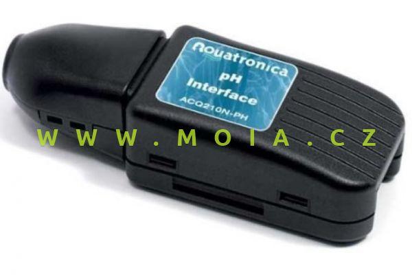 Propojení ACQ210N-PH pro sondu kyselosti – PH INTERFACE + USB Cable