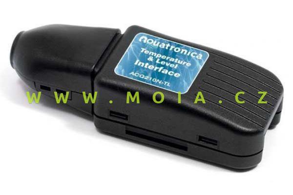 Propojení ACQ210N-TL sondy tepl. a výšky hladiny TEMP-LEVEL INTERFACE + USB Cable TL