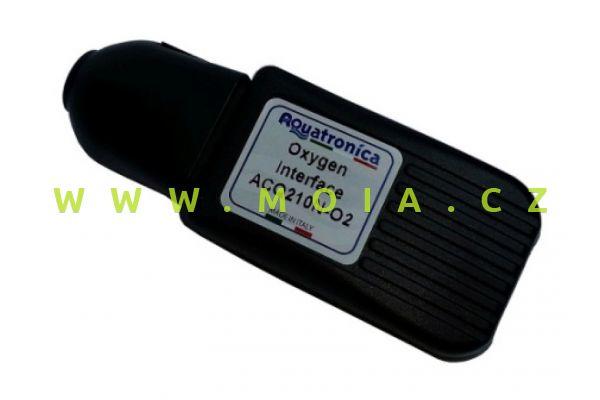 Propojení ACQ210N-O2 pro sondu rozpuštěného kyslíku OXYGEN INTERFACE + USB Cable