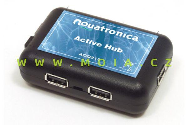 Rozšíření USB připojení ACQ215 ACTIVE HUB vč. zdroje