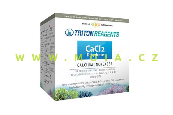 Ballingovy sole – DIY Calcium Increaser Salt CaCl2 Dihydrate, TRITON kvalita, 4000 g