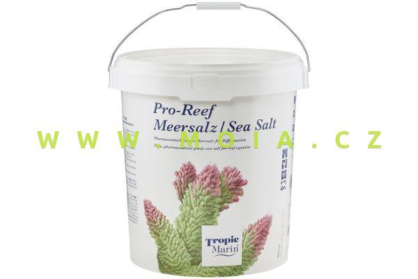 Mořská sůl Tropic Marin® PRO-REEF Sea Salt, kbelík 25 kg – 750 l